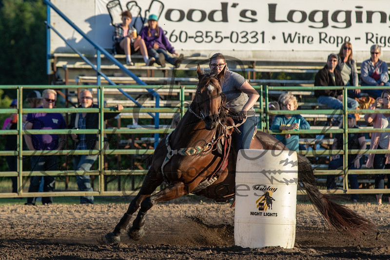 Friday Night Lights Barrel Race