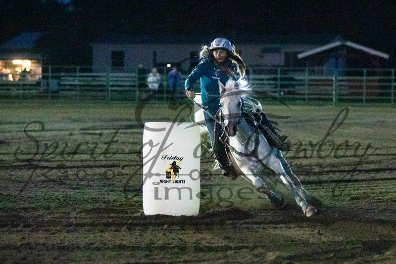 Friday Night Lights Barrel Race
