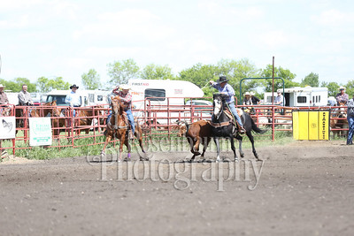 Carnduff Dash for Cash Team Roping