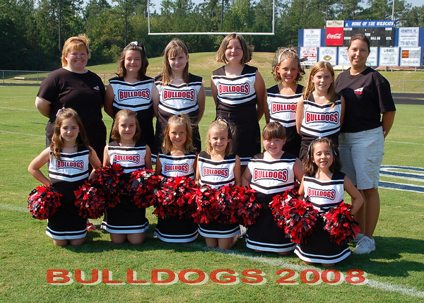 Barrow Cheerleaders 2008