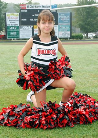 Barrow Cheerleaders Fall 2009