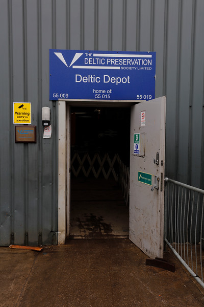Barrow Hill Roundhouse - Deltic Preservation Society Depot