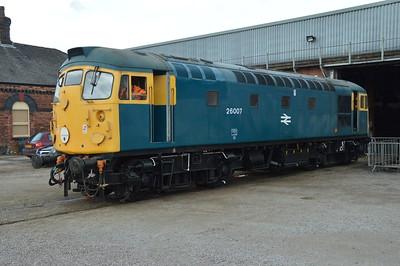 Barrow Hill and Peak Rail 30th April 2016