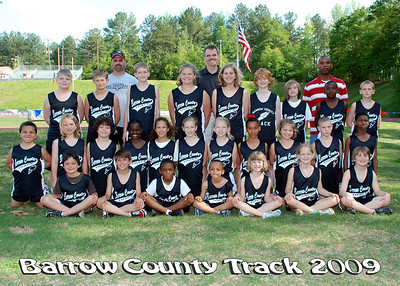 Barrow County Track 2009 Team Pictures