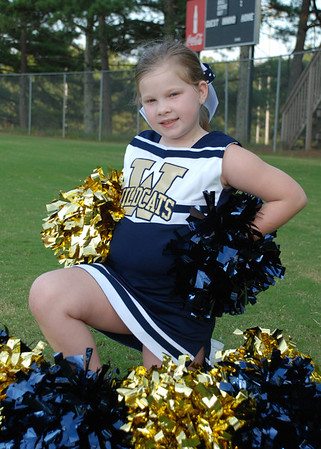 Davis Wildcats Cheerleaders 2012