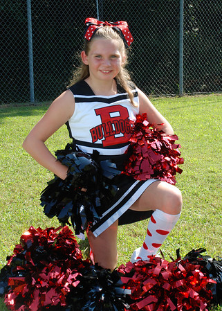 Gerbig Bulldoggs Cheerleader 2012