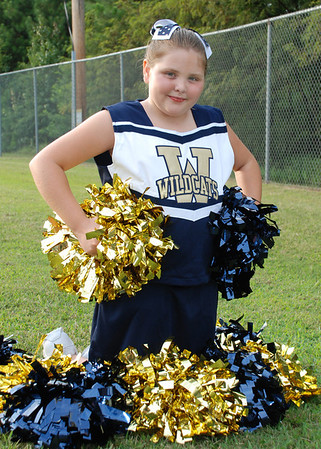 Hughes Wildcats Cheerleaders 2012