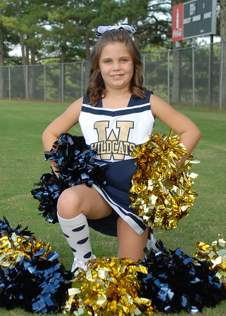 Roberts Wildcats Cheerleaders 2012