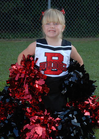 Sikes Bulldoggs Cheerleaders 2012