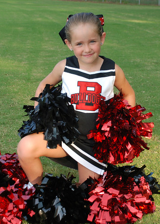 Watkins Bulldoggs Cheerleader 2012