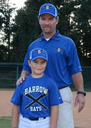 Barrow Bats Fall Baseball 2013