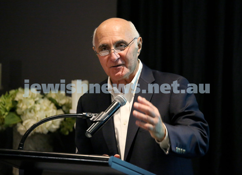 Barry Joseph's farewell function at the RMYC. Pic Noel Kessel.