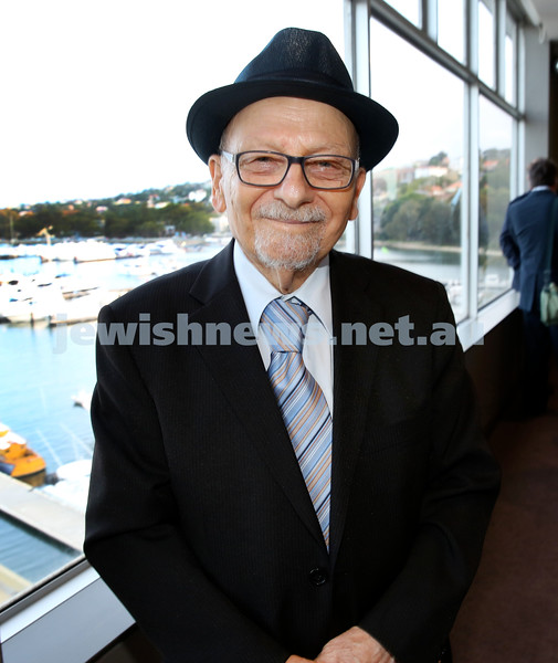 Barry Joseph's farewell function at the RMYC. Rabbi David Rogut. Pic Noel Kessel.