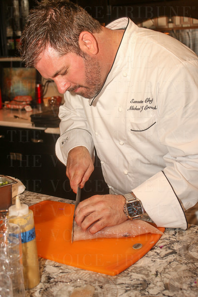 Chef Michael Crouch.