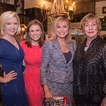 Emily Maher, Tiffany Savona and Vicki Dortch of WLKY and Author Nancy Miller.
