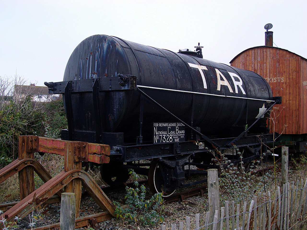 PO 7328 22t 4w Tar Tank 29,11,2008. (Now At The National Museum Of Wales)