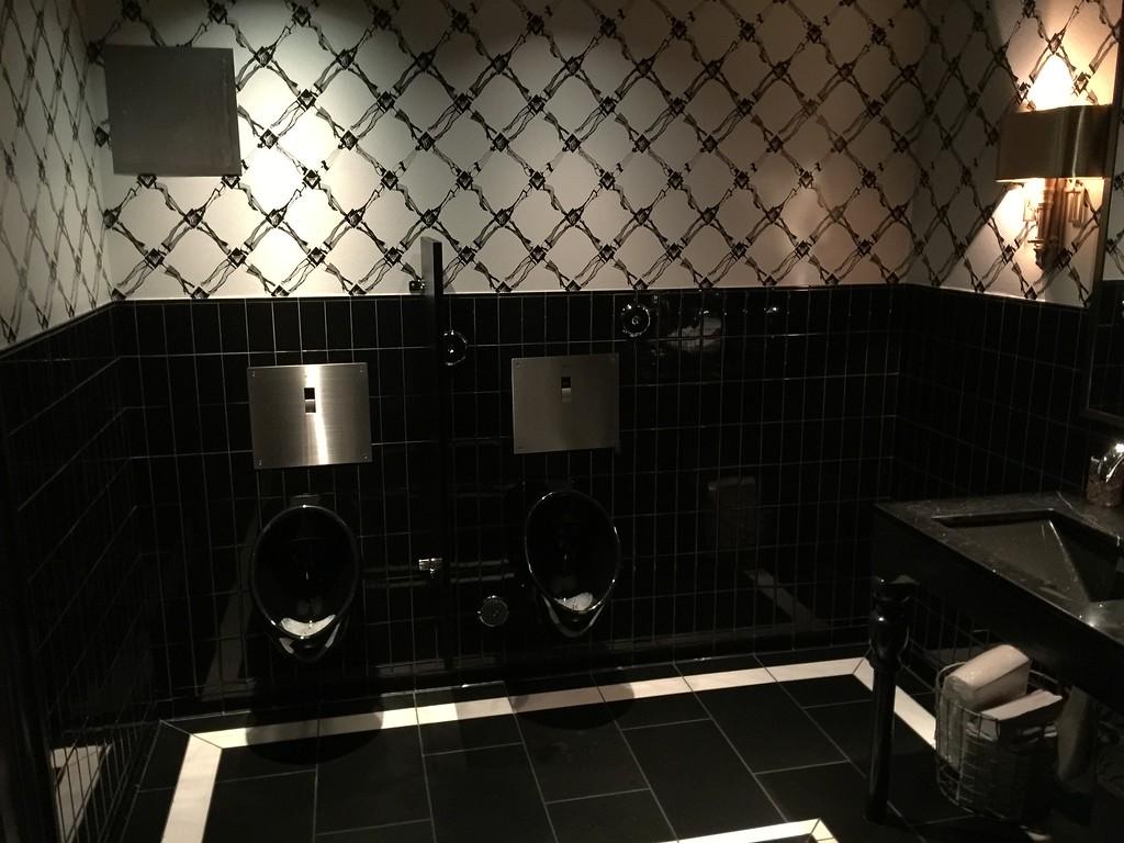 Mens' Restroom View # 1