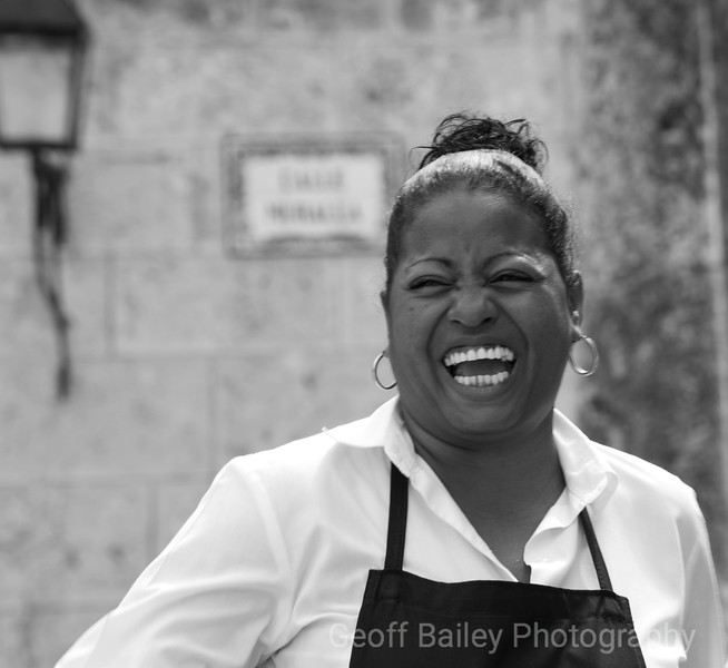 Waitress, Trinidad, Cuba