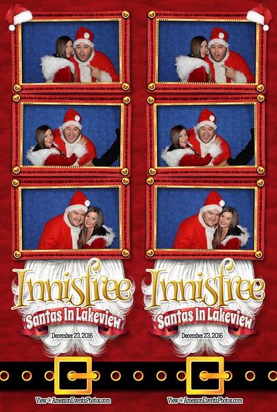 Innisfree Santas In Lakeview 2016