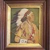 Portrait of Jesse Cornplanter.  Oil on canvas.