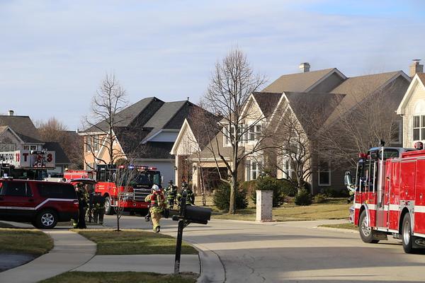 Bartlett House Fire, 3-11-17