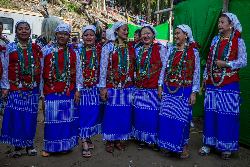Backstage fun at BasCon, Basar, Arunachal Pradesh, India