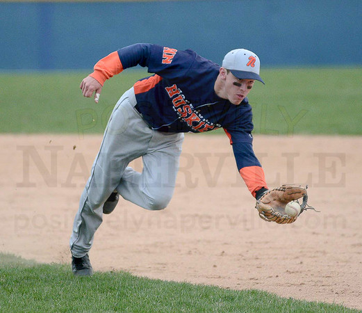 Baseball: Naperville North at Neuqua 4/24/2015
