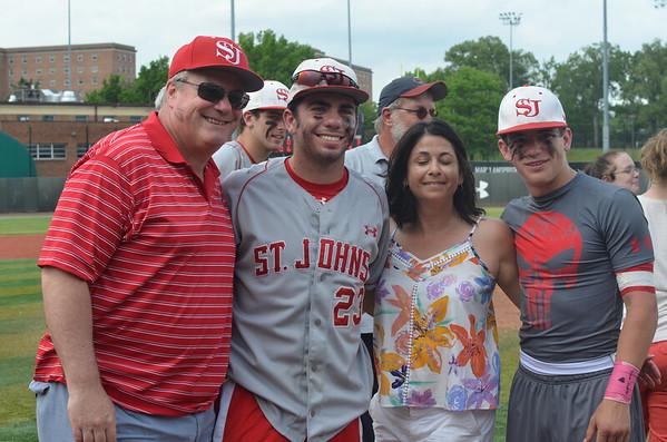 St Johns wins WCAC Baseball Championship Game 3 12-1, over DeMatha (5/10/2015)