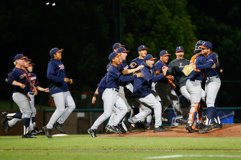 6/3/17: NCAA Regionals Stanford vs Fullerton at Klein Field at Sunken Diamond in Palo Alto, CA <br /> <br /> <br /> Image by Chris M. Leung for College Baseball Daily