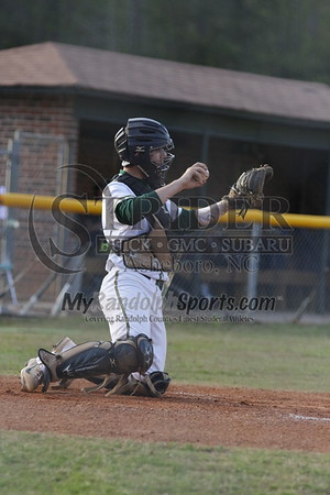 4/18/18 Eastern Randolph vs Asheboro baseball