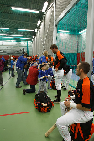 Meet & Greet Nederlands Team, Birds en Blue Socks BeeBall teams