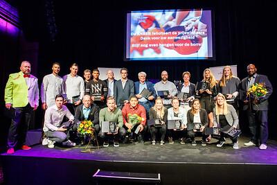 Star Awards uitreiking Lichtfabriek Haarlem (22-10-2016)
