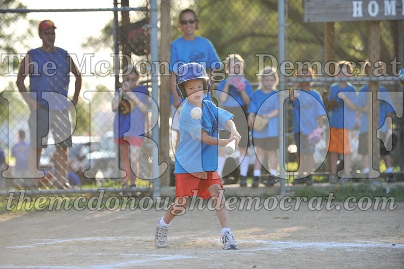 BPD T-Ball Blue vs Yellow 06-28-09 026
