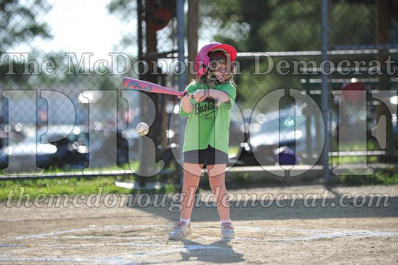 BPD T-Ball Red vs Green 06-28-09 057