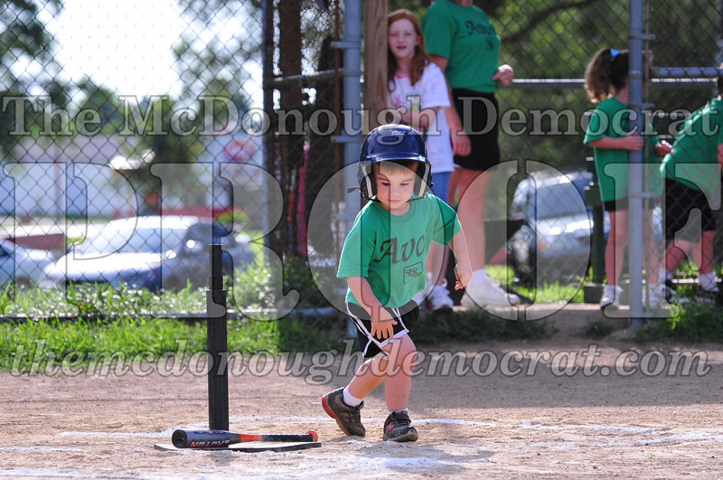 LL T-ball Avon Green vs Yellow 07-12-09 038