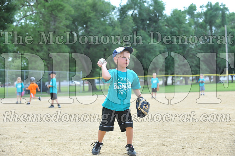 LL T-Ball Orange vs Teal Blue 06-27-10 075