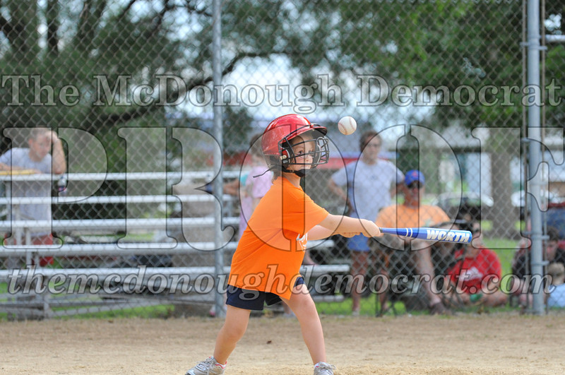 LL T-Ball Orange vs Teal Blue 06-27-10 012