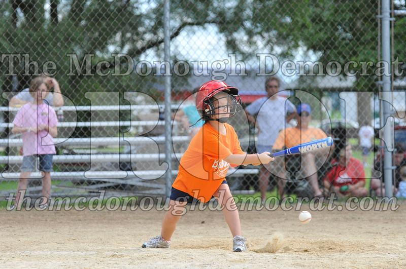LL T-Ball Orange vs Teal Blue 06-27-10 010