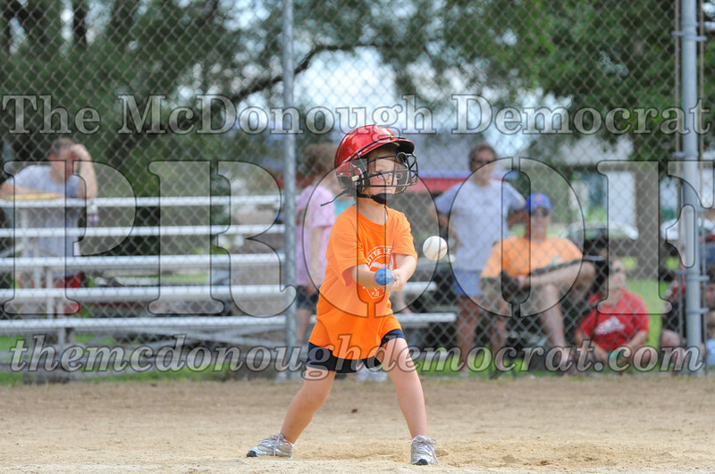 LL T-Ball Orange vs Teal Blue 06-27-10 011