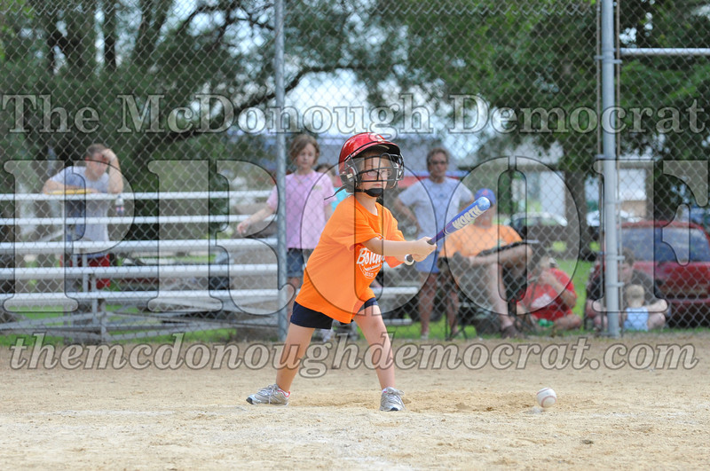 LL T-Ball Orange vs Teal Blue 06-27-10 014