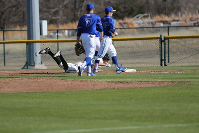 baseball vs. SAU day 1