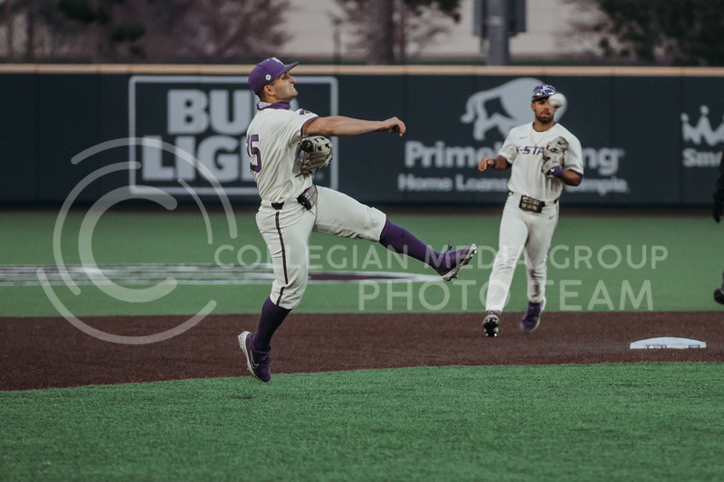 during the first game against Texas Tech on April 1, 2021. (Sophie Osborn   Collegian Media Group)