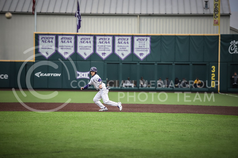 Senior Cameron Thompson making the run to second base on Friday's game ( April 23, 2021) against Western Virginia at Tointon Stadium. <br /> Elizabeth Proctor  Collegian Median Group