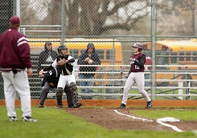 Woodland HS vs. Montesano HS, varsity, May 7, 2011