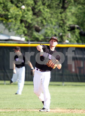 2012 District IX Baseball Semifinal Brockway vs Coudersport