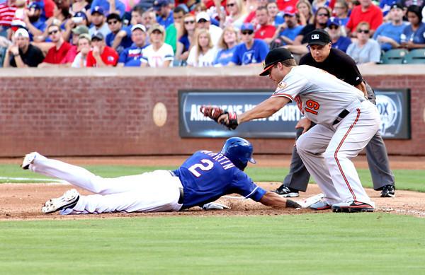 Rangers vs Orioles 7/21/13