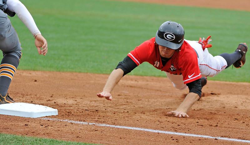 UGA baseball most valuable player award winner – Skyler Weber
