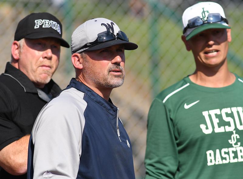 Varsity Baseball - Jesuit Crusaders vs. West Albany Bulldogs