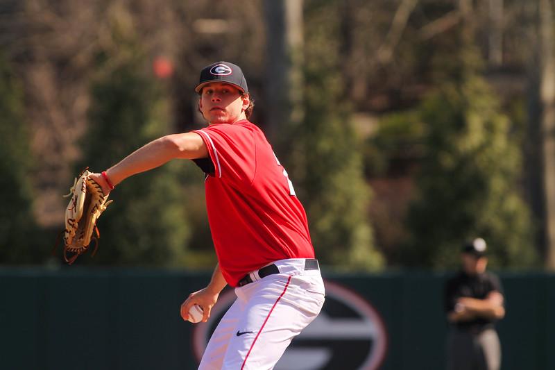 Georgia pitcher Chase Adkins (23) (Photo by Cory A. Cole / Georgia Sports Communications)