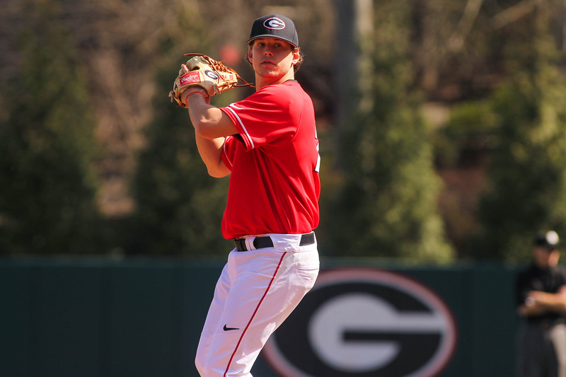 Georgia pitcher Chase Adkins (23)  (Photo by Cory A. Cole/Georgia Sports Communication)